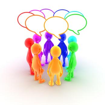 personas hablando en corro Desarrollo Organizacional: Recursos Humanos y Redes Sociales