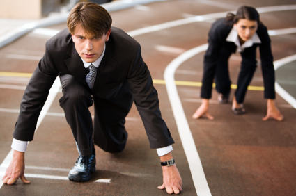 carrera gente negocios Desarrollo Profesional: Si Eres Bueno No Necesitas Correr