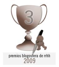 3er Premio Blogosfera de RRHH 2009
