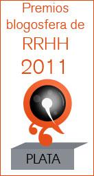 Premio Plata en los Premios Blogosfera de RRHH 2011