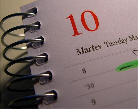 agenda dia 10 Productividad: Guía Fácil para el Buen Uso de la Agenda en GTD