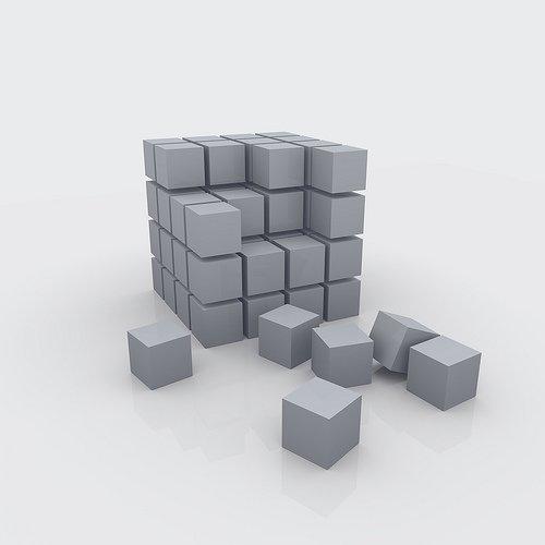 cubos 3d GTD: Planificación de Proyectos para el Mundo Real