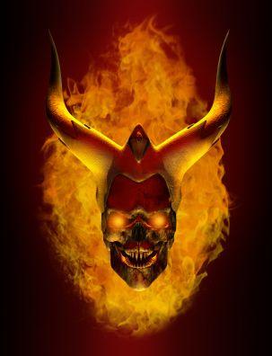 demonio en el infierno El Infierno Productivo está lleno de Creyentes