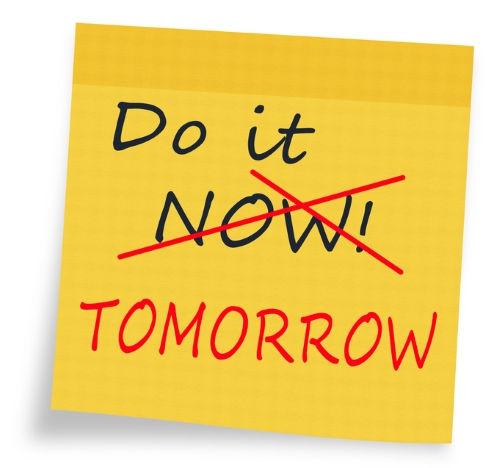 do it tomorrow GTD: Deja para Mañana lo que Puedas No Hacer Hoy