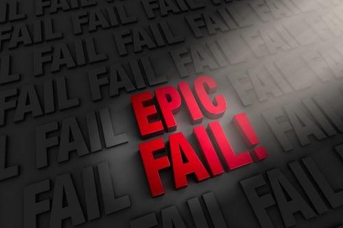 epic fail Además de Innovar, Aprender a Trabajar